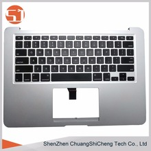 High quality Original Laptop Top Case Cover with Keyboard for Apple Macbook Air A1466 2012 A1369