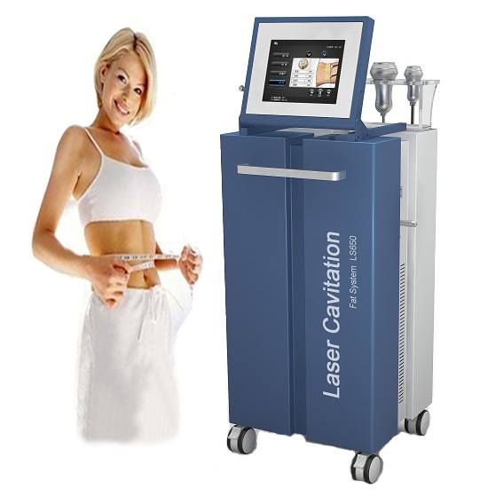 multi-function Lipo Laser+Cavitation+RF+Vacuum beauty machine for slimming and skin tighting