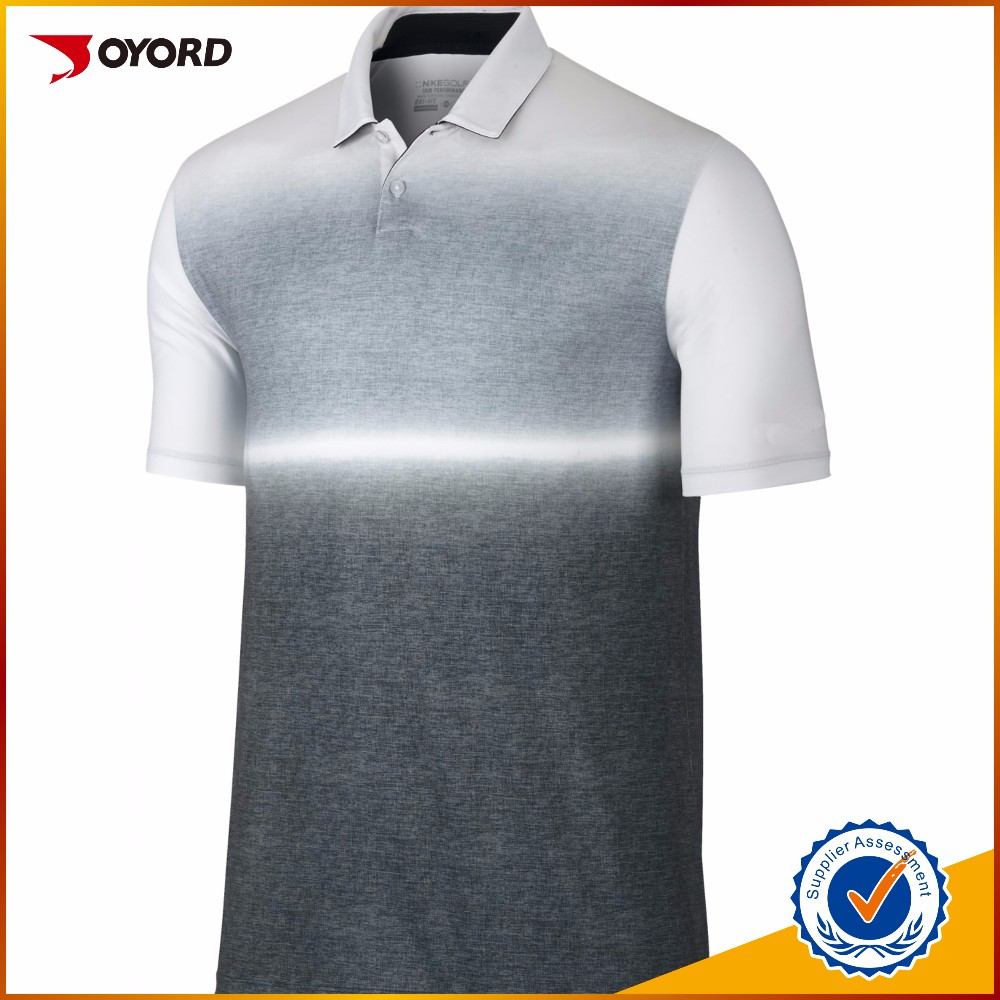 Wholesale dry fit men yellow polo golf shirts sublimated for Bulk golf shirts wholesale