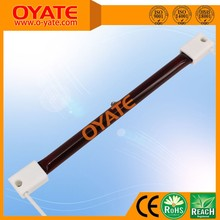 Ir quartz ruby heating lamp for heater
