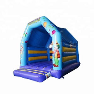 Small Circus Clown Inflatable Bouncing House And Jumping Castle for Sale