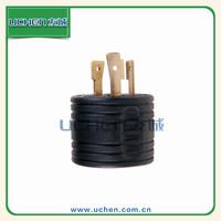 YGB-029 Uchen 30A 125V US power 3 pin plug adapter