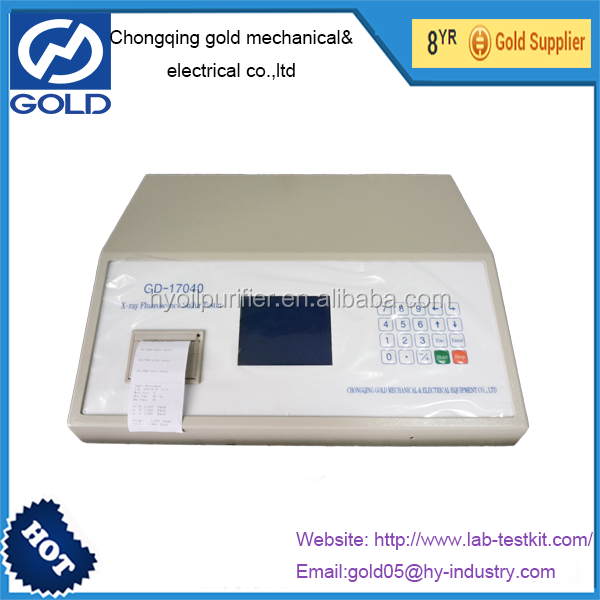 GD-17040 X-ray Fluorescence Sulfur Oil Analyzer Of Petroleum Product sulfur content