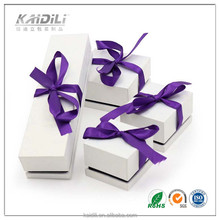 Recycled Materials Feature and Accept Custom Order custom paper jewelry box for jewellery