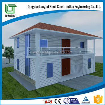 Loft plan America style Two Storey steel structure