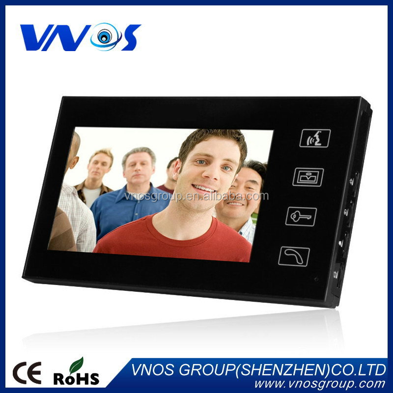 Good quality promotional multi apartments video door phone price
