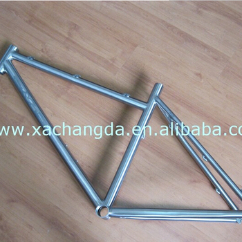 titanium mountain bike frame titanium MTB bike frame from China custom mtb bike frame