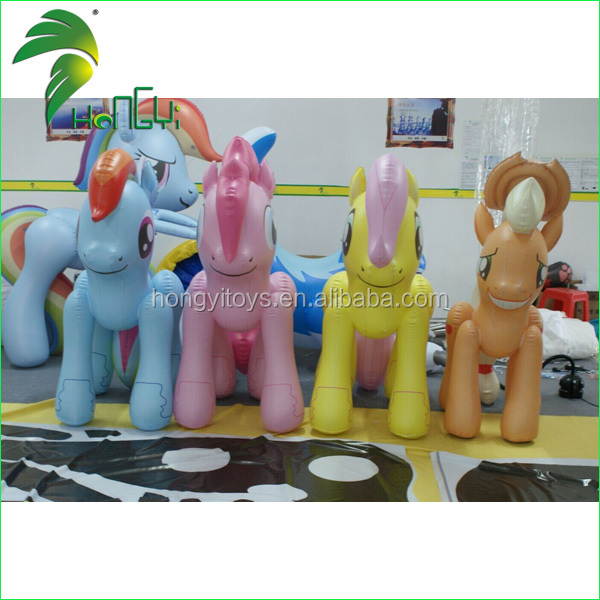 Hot Sale New Customized Lovely Inflatable Horse Toy/Inflatable Sex Horse/New Designed Inflatable Animal