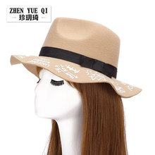 Super Quality Best-Selling Fashion Ladies' Felt Hats And Caps Ladies Felt Hats