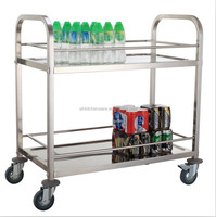 hotel and restaurant tea cart trolley