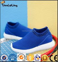 high quality beautiful blue mesh kids children shoes sports shoes for boys and girls