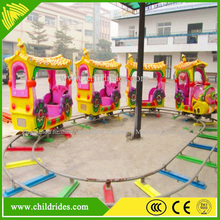 Kiddy ride train outdoor playground electric train on sale