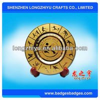 2013 Gold plated sports coin plate for commemorative or souvenir