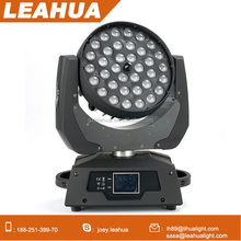 Pro lighting 36x10w moving head led wash rgbw