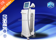 Vertical 808 Diode Laser For Permanent Hair Removal hair remove equipment with big spot size