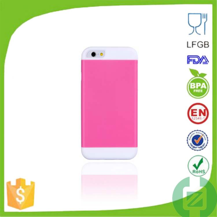 low price china mobile phone pc and silicone hybird phone case for lg g2 with h-shape stand