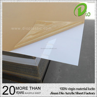 100% virgin material white high gloss methyl acrylate 1220x2440mm 3mm