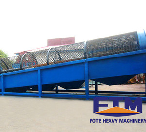 Compost Trommel Screen Manufacturer for Sale