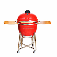 "High Gloss 23.5"" Outdoor Kitchen Large Kamado Clay Pizza Oven"