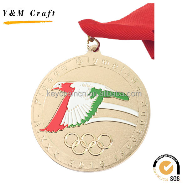 New Product Cheap Custom Metal Gold Award Sports Running Blank miraculous taekwondo medal