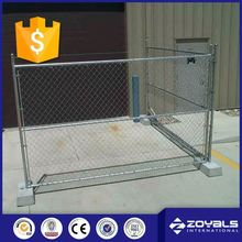 Cheap Portable Modular Fencing Pvc Welded Temporary Fence