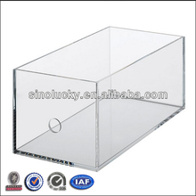 Stackable acrylic CD box Large