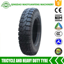 hot sale heavy duty motorcycle tyres 5.00-12 with inner tube for three wheeler made in china