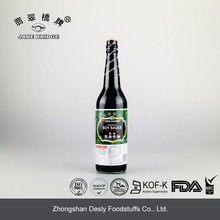 Made in China halal superior mushroom dark soy sauce