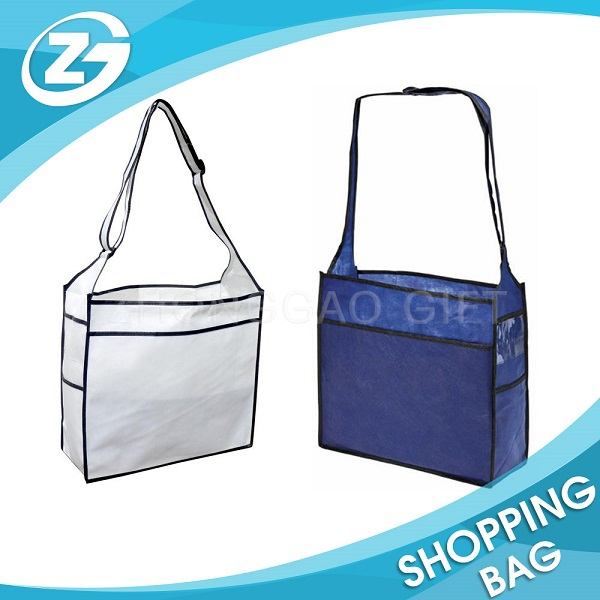 Non-woven Promotional cheap latest college girls shoulder bags