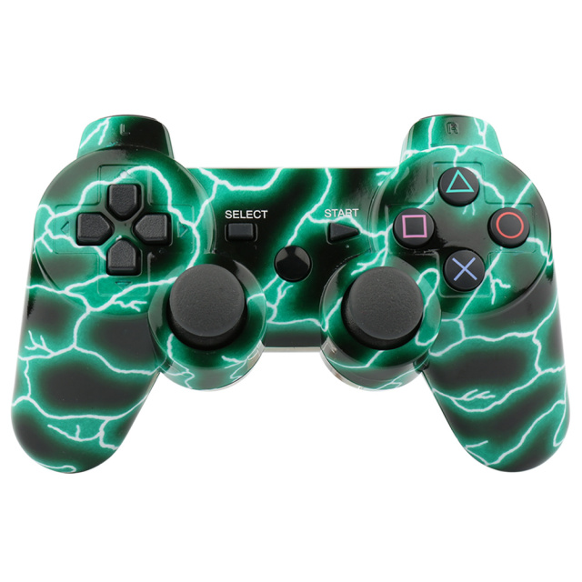 Wireless Camouflage Gamepad Game Controller for PS3