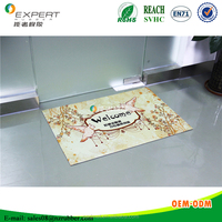 Customized high quality floor/door mat manufacturer