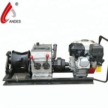 Andes gasoline diesel electric manual winch,winch car,winch rope