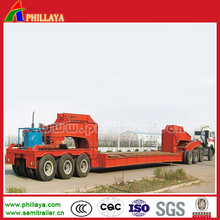 heavy load carrier self propelled hydraulic modular semi-trailer modular lowbed cargo trailer for sale