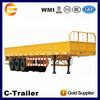 2014 hot 3-axle motorcycle cargo semi trailer for tractors