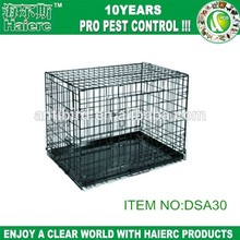 Haierc New design double dog crate manufacturer wholesale dog cage
