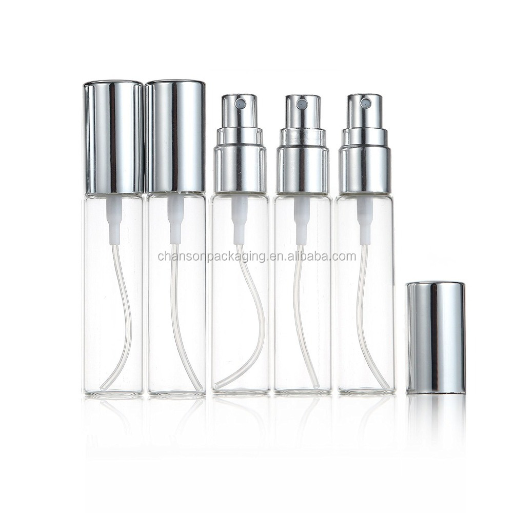 10ml atomizer glass bottle spray refillable fragrance perfume empty scent fine mist bottle