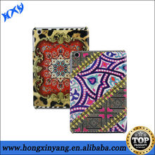 Hard plastic case with IMD printing for ipad 2 3 4 ,tribe pattern fancy cases