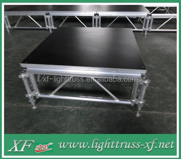 Aluminum Portable Stage Mobile Stage Wedding Stage Outdoor Concert Stage For Sale