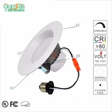 6 inch retrofit kits 4000k recessed led light trimless downlight with Lumileds led
