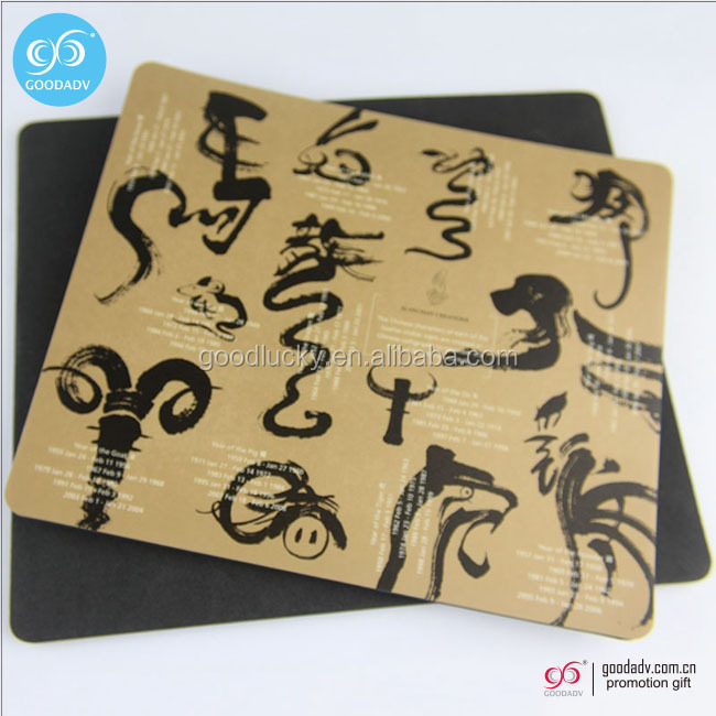 2017 Promotional gift gaming mouse pad custom printing mouse pad