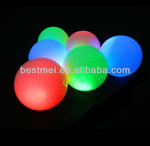 custom made led golf ball