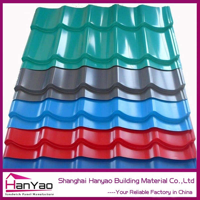 Building Materials Black Color Sun Stone Coated Metal Roof Tiles Price Philippines