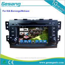 car stereo for KIA Borrengo Mohave android 6.0 car dvd player with GPS BT TV tuner AM/FM