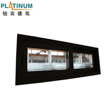 China Manufacturer Ce Confirmed Curved Sliding Window