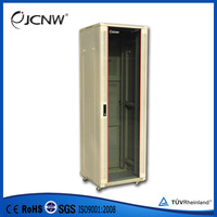 "OEM glass door 19"" network rack cabinet with certificate"