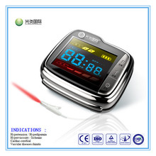 Low level laser therapy watch for high blood pressure, high blood sugar, rhinitis