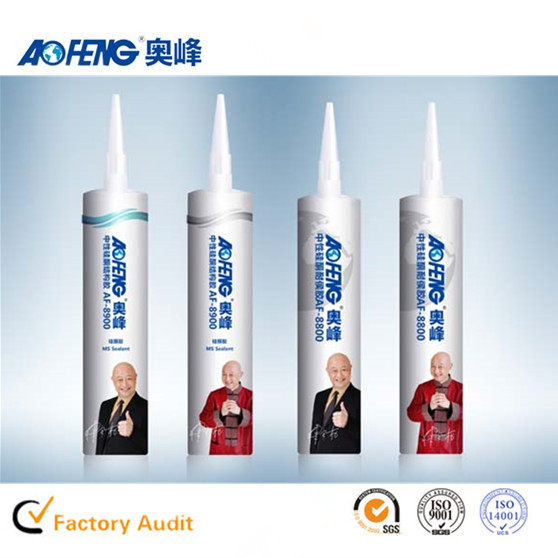 China Factory OEM Non-toxic Glass Silicone Sealant Neutral Fireproof Structural Silicone Sealant PU Foam