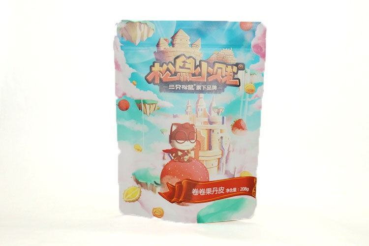 Food Grade Packaging Stand Up Plastic Zip Pouch
