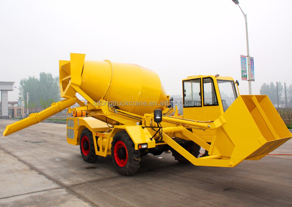 Loader Cement Wheel Mixing Diesel Engine For Concret Mixer