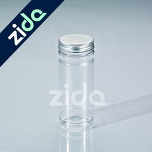 500ml PET clear plastic candy jar with screw cap wholesale